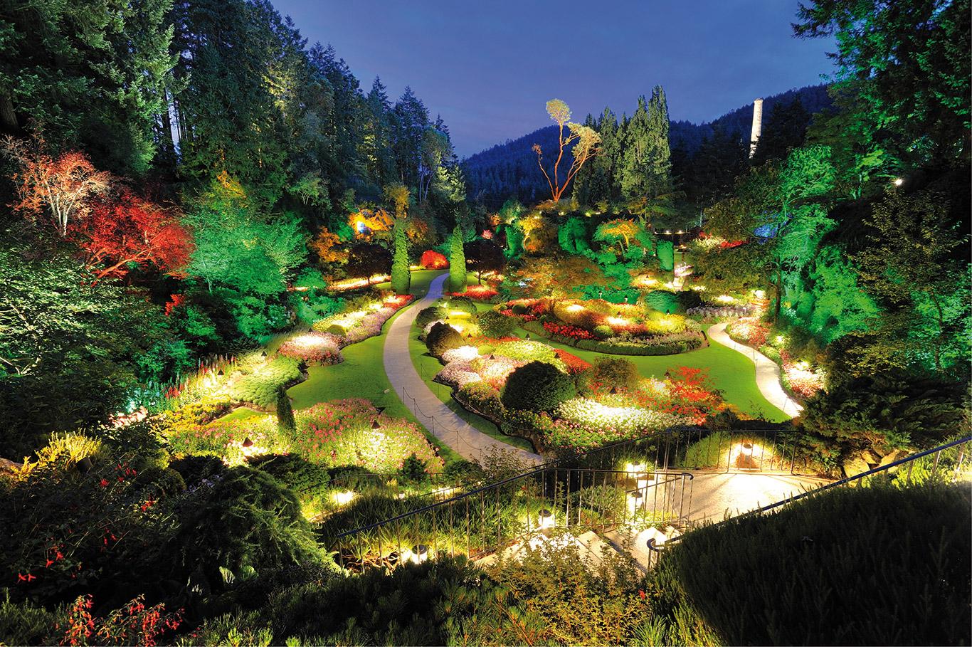 Consejos para tener un jard n terap utico wsd water spa - Iluminacion de jardines fotos ...