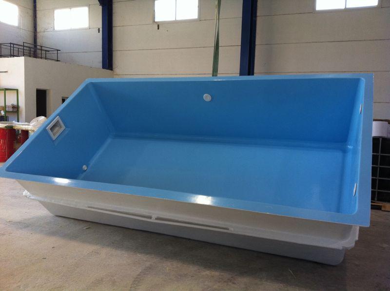 Piscinas poliester precios top piscina poliester modelo for Piscina fibra precio